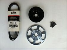MPX Underdrive Pulley Kit for the 12+ Fiat 500 Abarth/500X/500L/Dodge Dart 1.4T