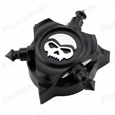 Skull Zombie CNC Oil Filler Cap Cover For Harley 07-up Electra Street Glide FLHX