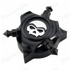 Skull Zombie CNC Oil Filler Cap Cover For Harley 07-up Electra Street Glide FLHX
