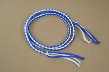 "Goat String - 1/4"" x 48"" - Blue & White - Paracord (F322)"