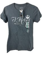 I Rebel Rogue One Star Wars Women's T-Shirt Size M New