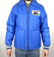 Vintage 60s 70s Peterson Seed Puffer Jacket Farmer Mens S Small Advertisement
