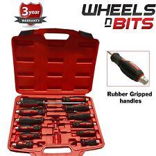 WNB Tools 12pc Go-through Screwdriver Set, screw driver screwdrivers NEW 3Yr Wan