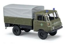 Busch 51651, Robur LO 1801 A, RIOT POLICE TASK FORCE, H0 Car Model 1:87