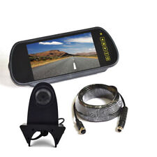 Backup Camera +7'' Clip-on Rear View Mirror Monitor for MB Sprinter / VW Crafter