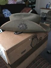 Australian Commonwealth Military Forces Vintage Hat