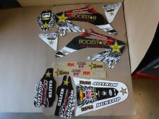 TEAM  ROCKSTAR  HONDA  GRAPHICS  CRF450  CRF450R  2002  2003  2004   PTS