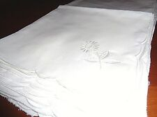 Vintage collection of 8 cotton blend napkins  - beautiful