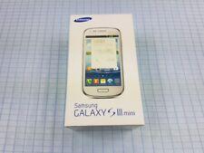 Samsung Galaxy S3 / SIII mini GT-I8190 8GB Blau! Gebraucht! Ohne Simlock! OVP!