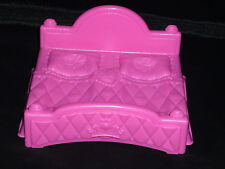 Fisher Price Little People Pink Castle Palace Double Bed New HTF