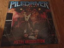 Piledriver - Metal Inquisition LP vinyl record sealed NEW RARE OOP