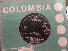 """FOCUS THREE """"10,000 Years Behind My Mind"""" Rare UK 7"""" - Columbia DB 8279"""