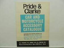 1967 Pride And Clarke Car And Motorcycle Accessory Catalog Lambretta BSA L9177