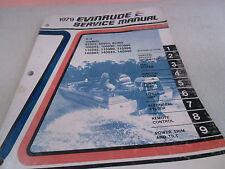 1979 Evinrude Service Manual V-4 Models  85995 85990 85999 100993 100990 100999