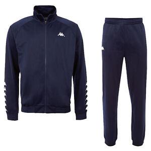 Kappa TILL Tracksuit Herren Trainingsanzug Jogginganzug 303307 blau