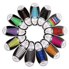 ELASTISCHE SCHNÜRSENKEL SILIKON - Gummi Schuhbänder Schuhe - kein Schuhe binden!