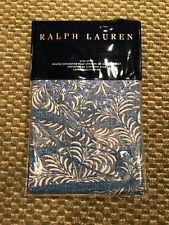Nwt $145 Ralph Lauren Meadow Lane Kaley King Pillow Sham