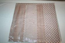 Arab Sheik Shemag Yashmagh Ghutra Kafiya Kaffiyeh XL Headcover Neckcover Wrap