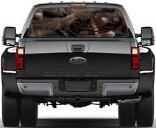 Guns Ammunition Hunting Gear  Rear Window Graphic Decal for  Truck