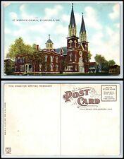 INDIANA Postcard - Evansville, St. Boniface Church D23