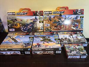 GI JOE KRE-O KREO TRU Exclusive Lot Of 6 Sealed Boxes Dragonfly Ghoststriker +++