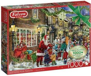 Falcon Deluxe Letters for Santa Jigsaw Puzzles (2 x 1000 Pieces)