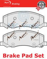 Apec Pastillas de Freno Frontales Set Repuesto de calidad OE pad1696