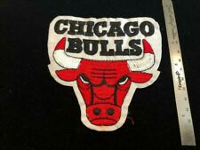 Chicago Bulls Patch - Die-cut LOGO -  Extra Patches Ship FREE