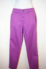 NWT Tahari Emma Jean Violet Spectrum Pants Stretch Skinny 6/10/42 Womens