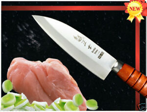 Handmade VG-10 Chinese Chicken Slicer Carving Knife 6 in Kitchen Ware Cutlery