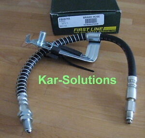 Mazda 121 FRONTS Wezmoto Stainless Steel Braided Brake Hoses Lines