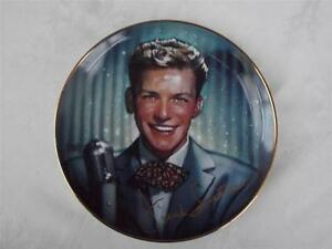 Frank Sinatra   Radio Days  Cabinet Plate - Franklin Mint