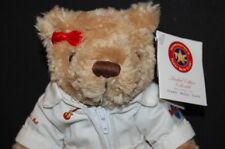 "Hard Rock Teddy Bear 8"" 2001 30th Anniversary Houston Texas Plush #103 of 120"