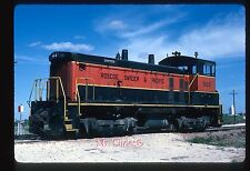 Original Slide RS&P Roscoe Snyder & Pacific SW1500 500 In 1984 At Roscoe TX