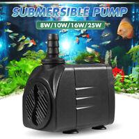 1800LPh Submersible Water Filter Aquarium Pump Fish Tank Fountain Pond Marine