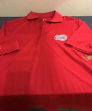 La Clippers Polo Shirt Red Size Small