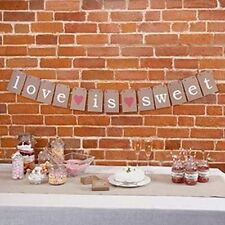 Just my Type Candy Buffet Bunting Sweet Table Decoration