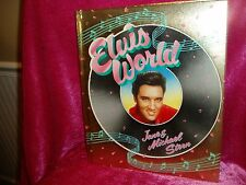 """Elvis World Book"", by Jane & Michael Stern, 1987 First edition,196 pages"