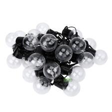 220V LED 25 Ball Bulbs Outdoor Globe Xmas Decorative Party 6M String Light Decor