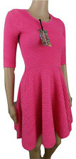 RIVER ISLAND,SIZE 8,PINK SKATER DRESS,STRETCHY,PARTY,WEDDING,CRUISE,NYE