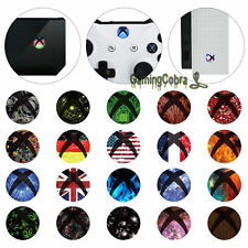 30 Pairs Skin Sticker Decal Home Power Switch Buttons for Xbox One X Controller