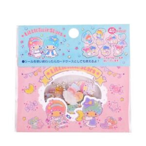 Pack of 45 Kawaii Little Twin Stars Sanrio Stickers Sticker Sack LTS Cute Pastel