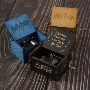 Harry Potter Game Of Thrones Game Box Wood Game Clock Music Box GiTU
