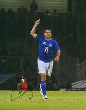 Christian Chaco Gimenez Signed Auto'D 11X14 Photo Poster Cruz Azul Fc Mexico A