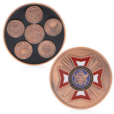 No. One Does More For Veterans Commemorative Challenge Coin Collection Souvenir