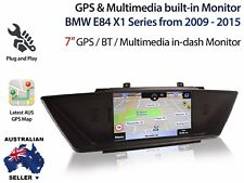 "BMW X1 E84 7"" Touch OEM Grade GPS Bluetooth DVD Player Upgrade"