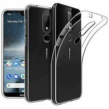 For Nokia 1 2.2 4.2 7.2 6.2 3.1 Protective Slim TPU Gel Skin Phone Case Cover