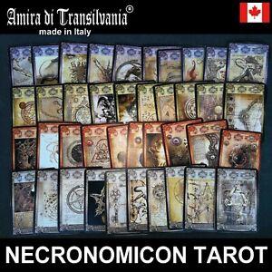 necronomicon lovercraft tarot cards deck book guide rare vintage occult grimoire