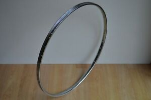 "Vintage Rigida Chromage Superchromix Steel Wheel Rim 36 Hole 27"" x 1.250"""