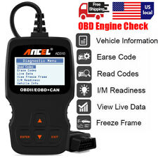 OBD2 EOBD Automotive Car LIVE DATA Code Reader Engine Diagnostic Scanner Tool